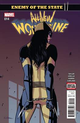 All-New Wolverine (2016-) (Comic book) #14