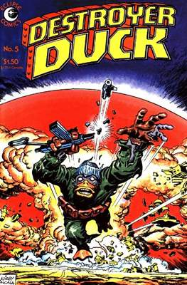 Destroyer Duck (Comic Book. 1982) #5