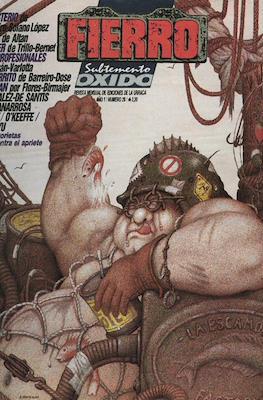 Fierro (Grapa (1984-1992) Primera época) #29