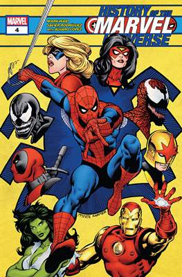 History of the Marvel Universe (Comic Book 44 pp) #4