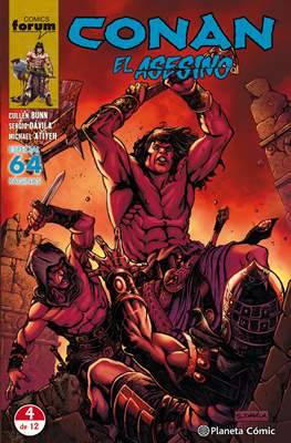 Conan el Asesino (Grapa 64 pp) #4