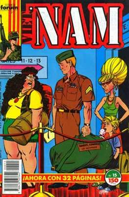 Vietnam (Grapa/Rústica. 17x26. 24/32/48 páginas. Color (1988-1991)) #15