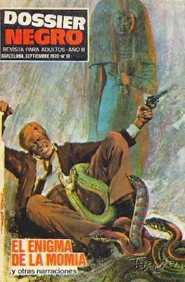 Dossier Negro (Rústica y grapa [1968 - 1988]) #18