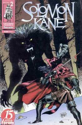 Solomon Kane (1998) (Grapa. 17x26. 48/24/40 páginas. Color) #2