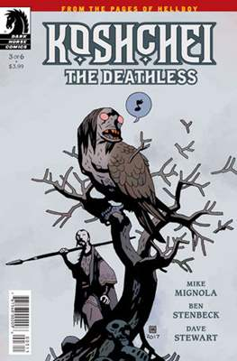 Koshchei the Deathless (Comic-book) #3