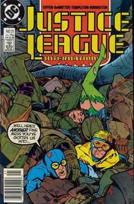 Justice League / Justice League International / Justice League America (1987-1996) (Comic-Book) #21