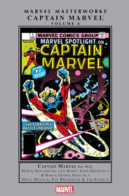 Marvel Masterworks: Captain Marvel (Hardcover) #6