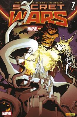 Secret Wars (2015 Portadas alternativas) (Grapa) #7