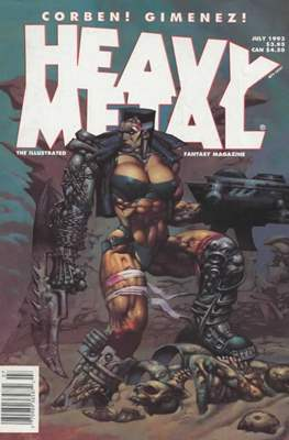Heavy Metal Magazine (Magazine) #145
