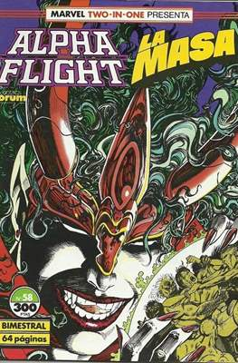 Alpha Flight vol. 1 / Marvel Two-in-one: Alpha Flight & La Masa vol.1 (1985-1992) #58