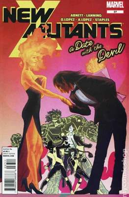 New Mutants Vol. 3 (Comic Book) #37
