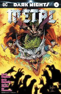 Dark Nights: Metal (2017-2018) (Comic-book) #6