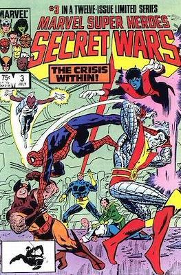 Marvel Super Heroes Secret Wars (Comic Book) #3
