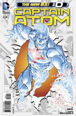 Captain Atom The New 52! (2011-2012) #0