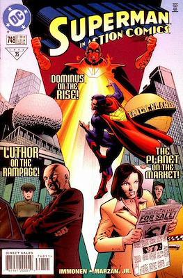 Action Comics Vol. 1 (1938-2011; 2016-) (Comic Book) #748