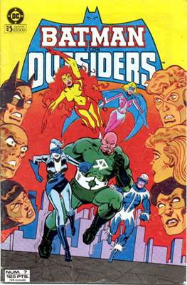 Batman y los Outsiders / Los Outsiders #7