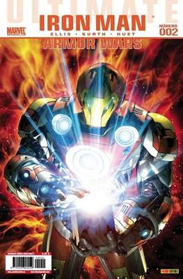 Ultimate Comics. Iron Man: Armor Wars (Grapa 48 pp) #2