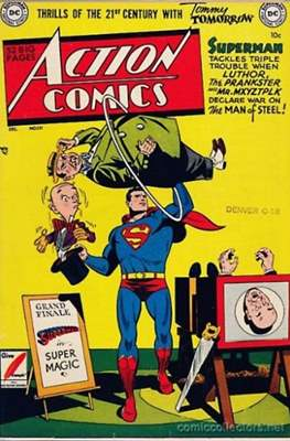 Action Comics Vol. 1 (1938-2011; 2016-) (Comic Book) #151