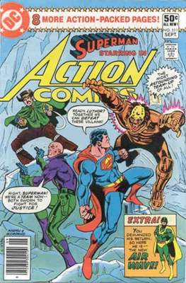 Action Comics Vol. 1 (1938-2011; 2016-) (Comic Book) #511
