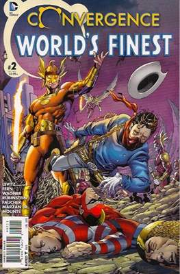 Convergence World's Finest (2015) (Saddle-stitched) #2
