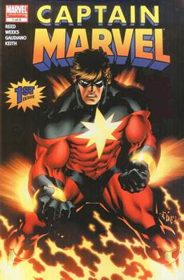 Captain Marvel Vol. 6 (2008) (Comic Book) #1