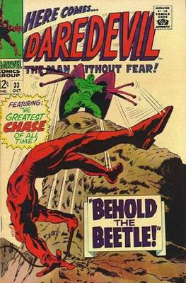 Daredevil Vol. 1 (1964-1998) (Comic Book) #33