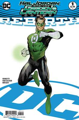Hal Jordan and The Green Lantern Corps: Rebirth #01 (2016) Variant Cover