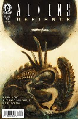Aliens Defiance (Comic Book) #3