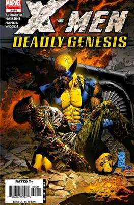 X-Men: Deadly Genesis (Grapa) #3
