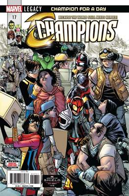 Champions Vol. 2 (Comic Book) #17