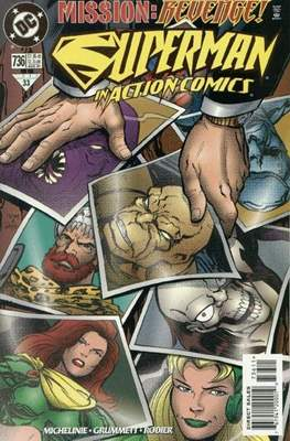 Action Comics Vol. 1 (1938-2011; 2016-) (Comic Book) #736