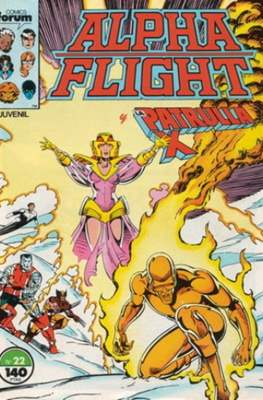 Alpha Flight vol. 1 / Marvel Two-in-one: Alpha Flight & La Masa vol.1 (1985-1992) (Grapa 32-64 pp) #22