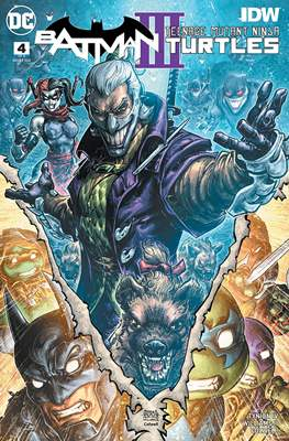Batman / Teenage Mutant Ninja Turtles III (Comic Book) #4