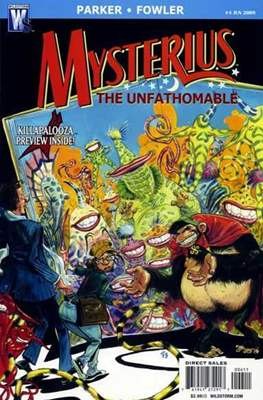 Mysterius the Unfathomable (Comic Book) #4