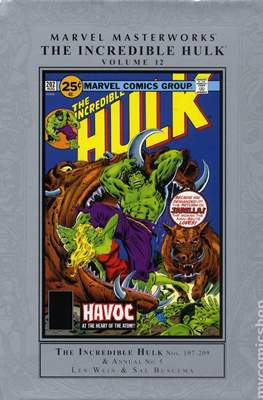 Marvel Masterworks The Incredible Hulk (Hardcover) #12