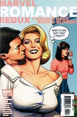 Marvel Romance Redux: I Should Have Been a Blonde
