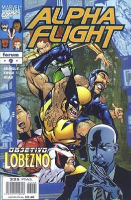 Alpha Flight Vol. 2 (1998-1999) (Grapa) #9