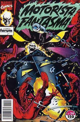 Motorista Fantasma (1991-1994) (Grapa. 17x26. 24 páginas. Color. (1991-1994).) #24