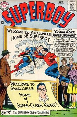 Superboy Vol.1 / Superboy and the Legion of Super-Heroes (Comic Book) #107
