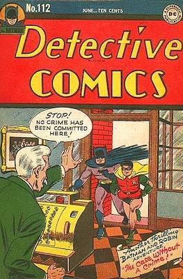 Detective Comics Vol. 1 (1937-2011; 2016-) (Comic Book) #112
