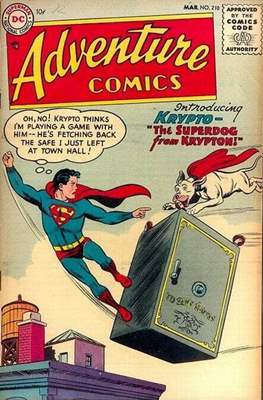 New Comics / New Adventure Comics / Adventure Comics (1935-1983 ; 2009-2011) (Comic Book) #210