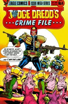 Judge Dredd's Crime File (Comic Book 32 pp) #4