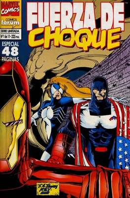 Fuerza de Choque vol. 1 (1995) (Grapa. 17x26. 24 páginas. Color. 1995.) #1