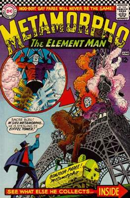 Metamorpho (Vol. 1 1965-1968) (Comic Book) #6