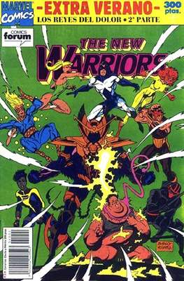 The New Warriors Extra Verano. Los reyes del dolor 2ª parte