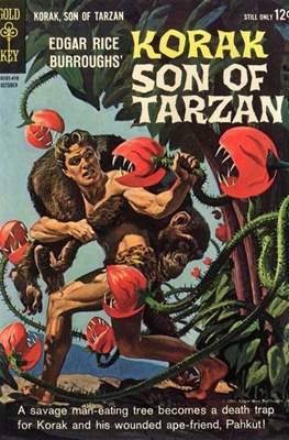 Korak Son of Tarzan / The Tarzan Family (Comic-book. 32 pp) #5
