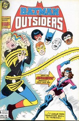 Batman y los Outsiders / Los Outsiders (1986-1988) (Grapa, 34 páginas) #15