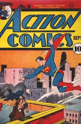 Action Comics Vol. 1 (1938-2011; 2016-) (Comic Book) #28