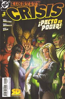 Identity Crisis (2005) Grapa #2