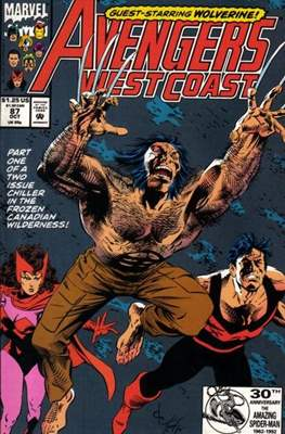 West Coast Avengers Vol. 2 (Comic-book. 1985 -1989) #87